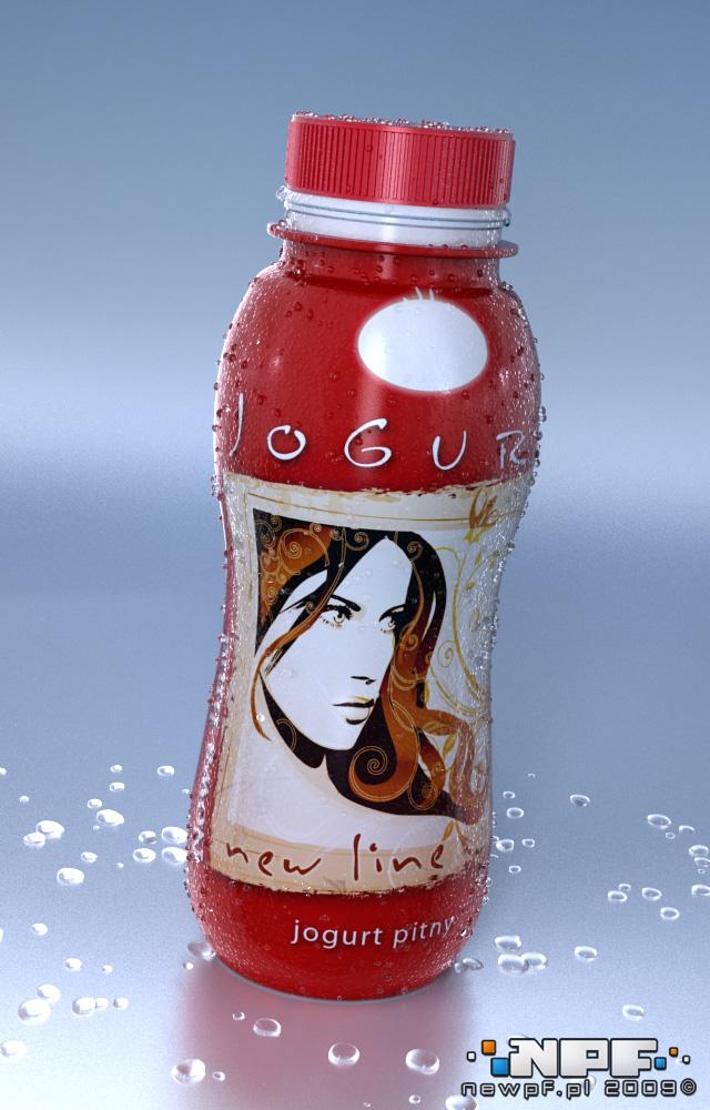 Przykład 1 etykiety jogurtu