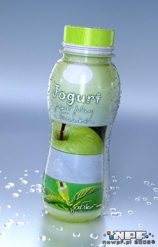 Przykład 12 etykiety jogurtu