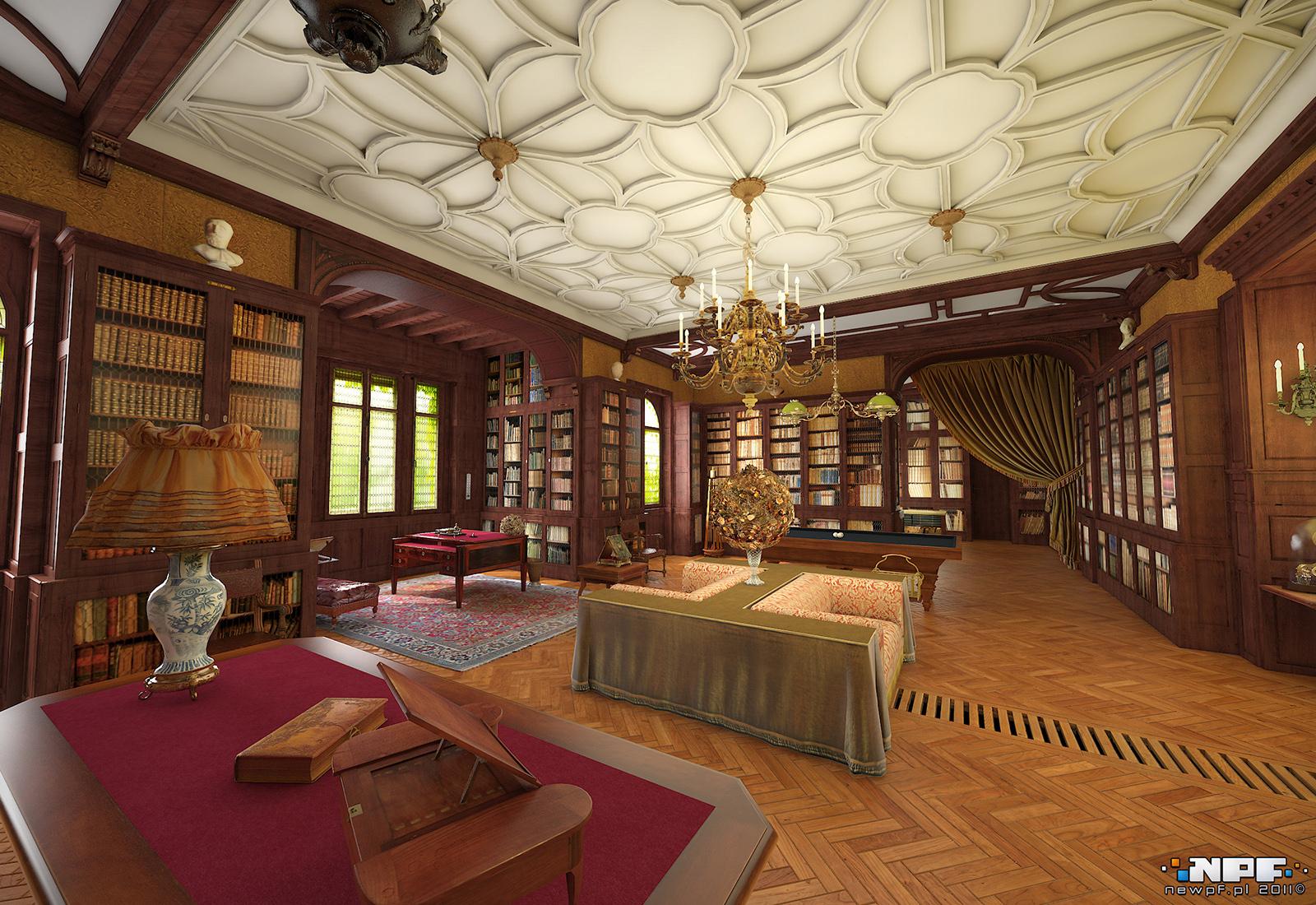 Biblioteka w Łańcucie 1