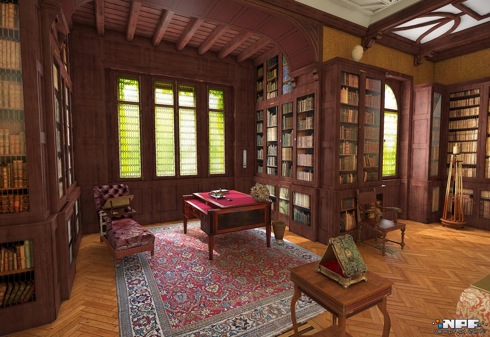 Biblioteka w Łańcucie 4