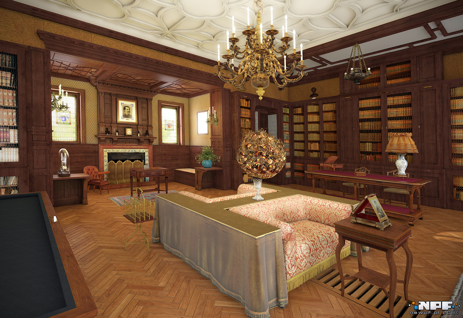 Biblioteka w Łańcucie 8